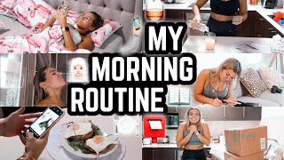 MY MORNING ROUTINE 2019 🍽🏋️‍♂️🧖🏼‍♀️📮*REAL & RAW* 🙌🏼 JAZ HAND