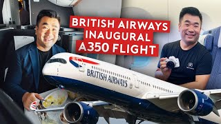 British Airways A350-1000 First Flight
