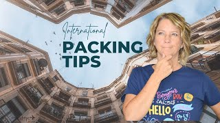 Pack to Europe (What NOT to Forget)