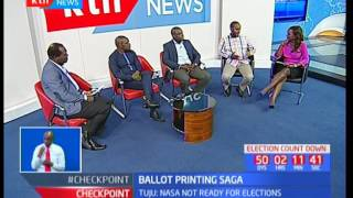 Interview on the concerns of the ballot printing saga, The Fact Check
