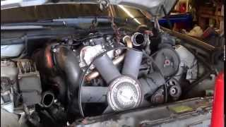 preview picture of video 'BMW Engine Gear Box Removal Hoist Part One - Hamilton Motor Car Mechanics Garage'