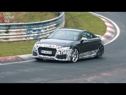 Audi TT-RS 2020 mule