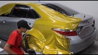 CRAZIEST CAR WRAP I'VE DONE YET!! (Widebody Camry)