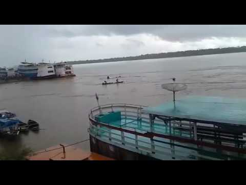 VÍDEO MOSTRA MULHER PEDINDO SOCORRO APÓS ACIDENTE NO RIO MADEIRA