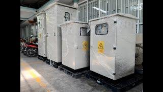 Tủ Điện Hạ Thế ACB (1500Hx800Wx800D) 3P 1600A Mitsubishi, LS Solar