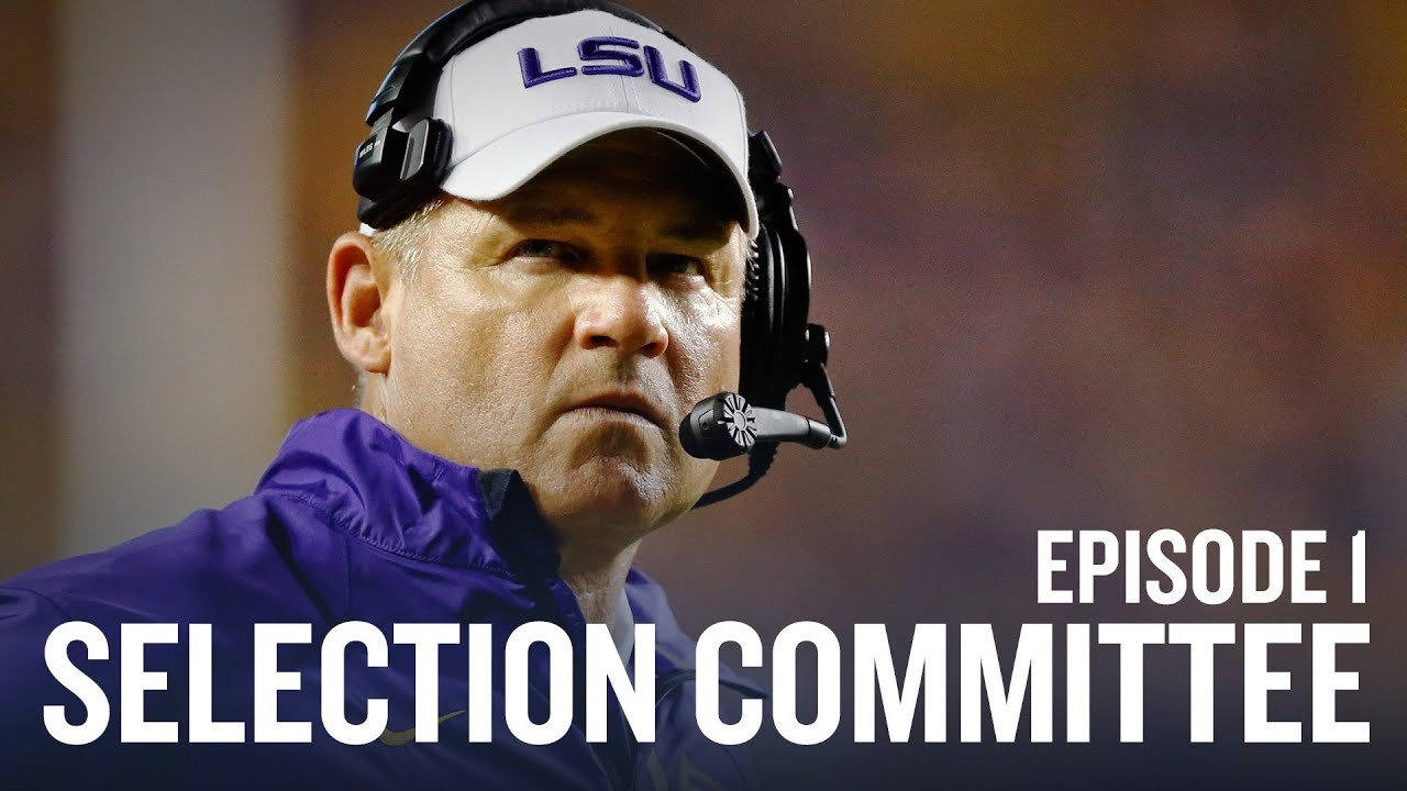 The Selection Committee: College Football's Four Best Teams (Episode 1) thumbnail