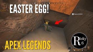 Apex Legends Easter Egg - Loch Ness monster ( Nessie ) location on training map