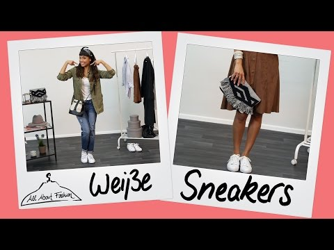Weiße Sneakers: Styling Tipps