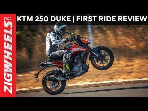 2017 KTM 250 Duke | First Ride Review | ZigWheels