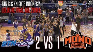 HoopsHighlights - [ABL PLAYOFFS 2018-2019] BTN CLS Knights Indonesia Vs Mono Vampire [Game 3] (HD)