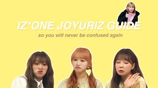 IZ*ONE Jo Yuriz Guide so you will never be confused again