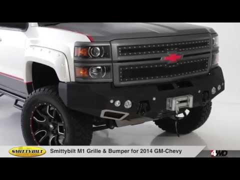 Smittybilt M1 Grille & Bumper For 2014 Chevy 1500 Mp3