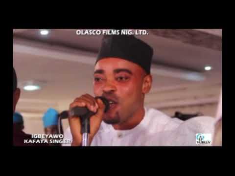 NIKAI KAFAYA SINGER - Alhaji Abdul Salam Azeez Abiodun (Saoty Arewa)