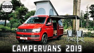 Top 7 NEW Campervans and Impressive Vacation Vehicles of 2018-2019