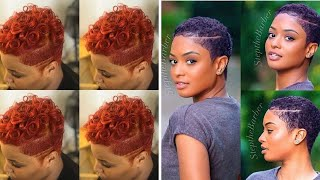 60 Most Captivating African American Short Hairstyles / Best Short Hairstyles For Black Ladies