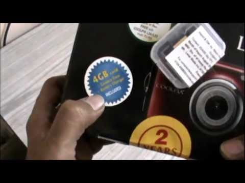 Nikon Coolpix L23 Unboxing - Red - VISHKI.com