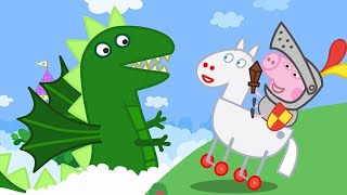 Peppa Pig Official Channel | Peppa Pig, George and the Dragon!