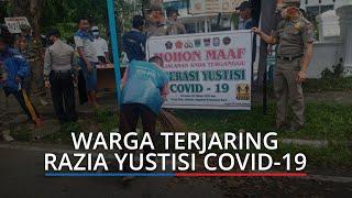Puluhan Warga di Padang Terjaring Razia Tak Pakai Masker, Sanksi Masih Nyapu Jalan
