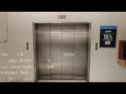 1969 Otis Lexan Hydraulic Elevator at Hudson's Bay, Lougheed Town Centre - Burnaby BC