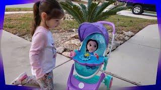 *New* My Disney Nursery Musical Bubble Baby Doll Stroller!