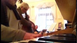 clasno na organe -  Arnold Gorokhovsky Quartet sound check