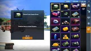 Opening 330 Free Crates 😱 (Classic, Premium, Supply, Royal Pass) 🔥 | PUBG MOBILE