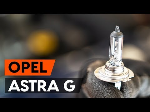 Wie OPEL ASTRA G CC (F48, F08) Scheinwerfer Lampe wechseln [TUTORIAL AUTODOC]