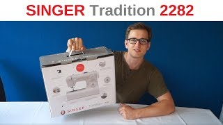 Singer Tradition 2282 - Unboxing - Test mit LEDER!!