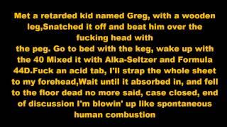 Eminem- 4 Versus Lyrics (Freestyle) HQ