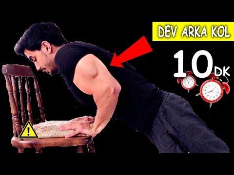 DEV ARKA KOL ANTRENMANI !! | Evde Kol Programı!