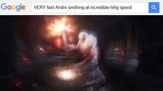 VERY fast Andre smithing at incredible hihg speed