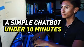 How to Make a Simple Chatbot in Under 10 Minutes (No Coding Dialogflow)