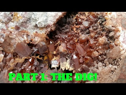 Quartz Crystal Collecting in Virginia (Part 1: