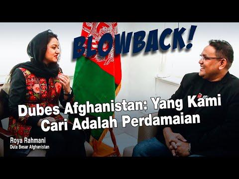 Dubes Afghanistan: Yang Kami Cari Adalah Perdamaian