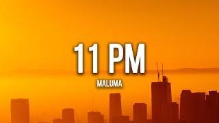 Maluma   11 PM (Lyrics  Letra)