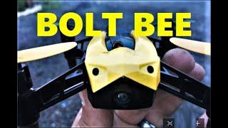 Holy Stone Bolt Bee FPV Mod 5.8 ghz Fatsharks DVR Drone Flight