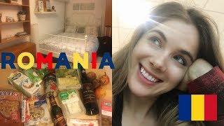 Arriving In Bucharest // Amazing $35 Air B&B + Romanian Grocery Haul