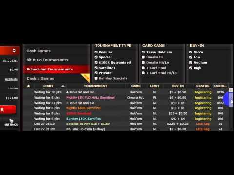 US Legitimate Online Poker Site Turned $100 into $12K...