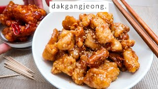 FAILPROOF: Korean Dakgangjeong Fried Chicken!