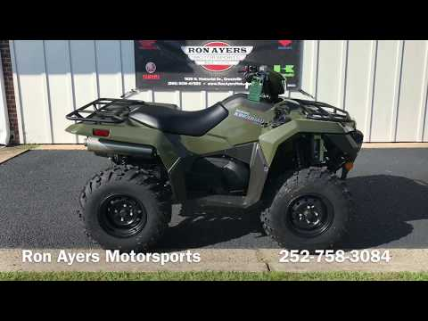 2019 Suzuki KingQuad 750AXi in Greenville, North Carolina - Video 1