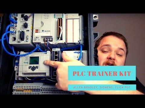 PLC Trainer Kit - Allen Bradley DIY PLC Trainer Siemens ... - YouTube