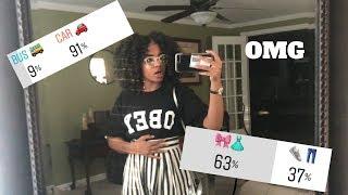 My Followers Control My FIRST DAY OF SCHOOL 😬 + vlog | Junior Year 📚😜