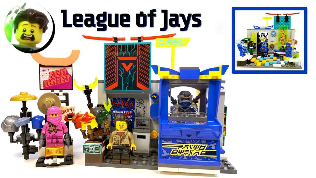 LEGO Ninjago League of Jays Underground Hideout MOC