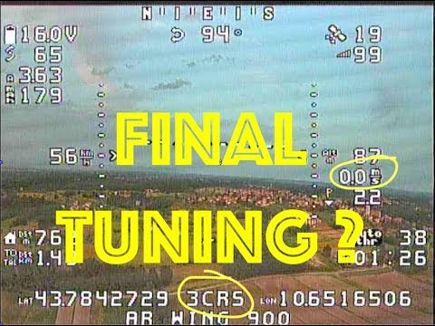 ar-wing-900--inav-210--final-tuning-