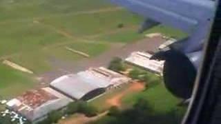preview picture of video 'Aterrizaje en Asuncion Paraguay'