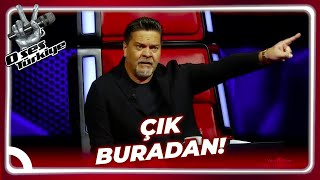 Beyaz Show's Lead Singer Got On The Stage The Studio Got Messed Up! | The Voice Turkey Episode 19