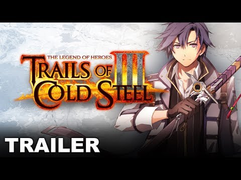 Trails of Cold Steel III - Announcement Trailer (Nintendo Switch)