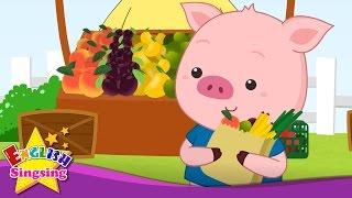 Little Piggy - Đây Little Pig - Finger chơi - Animal Nursery Rhyme