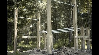 How To Build Your Own Calisthenics Park In Your Yard DIY tutorial