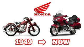 Honda Motorcycle Evolution [1949-Now] || History Of Honda Motorcycle